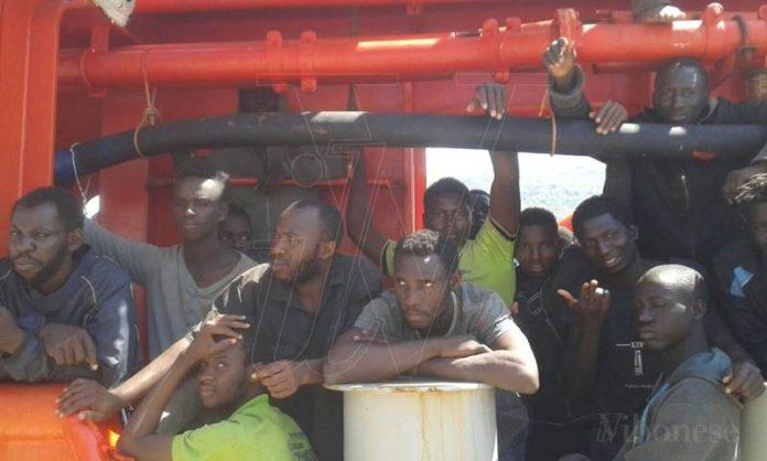 Migranti a Vibo Marina