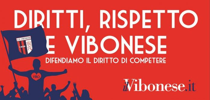 La campagna a sostegno della Vibonese