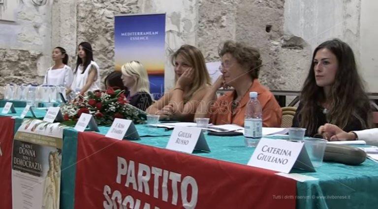 """""""Se non è donna non è democrazia"""", a Tropea confronto sulle politiche di genere (VIDEO)"""