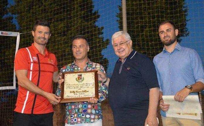 La consegna del premio alla Tonno Callipo Calabria