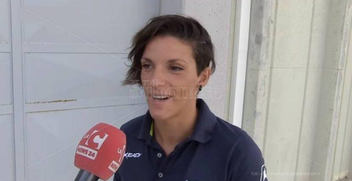 La nuotatrice vibonese Laura Medini in bella evidenza a Budapest (VIDEO)