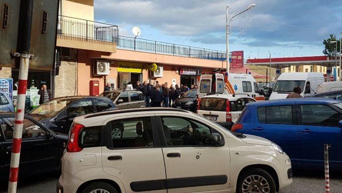 L'ufficio postale di Pizzo dopo la rapina dello scorso dicembre