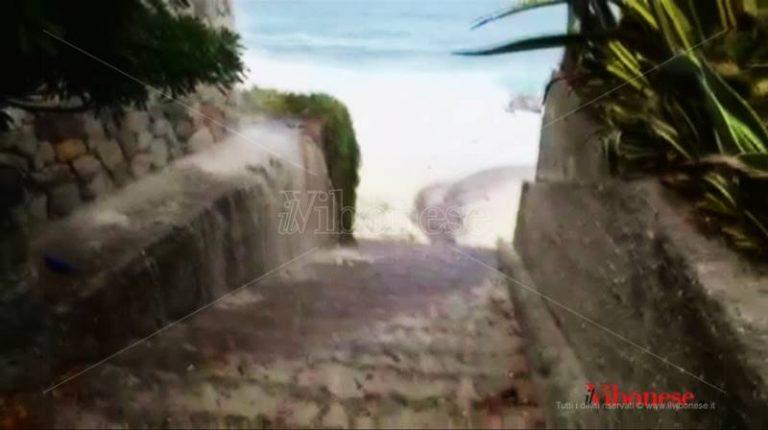 Santa Maria di Ricadi: di nuovo rotta la condotta dei reflui del depuratore, tombino in tilt (VIDEO)
