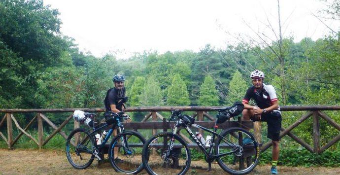 L'impresa dei ciclo-escursionisti: da Serra San Bruno a Reggio in mountain bike