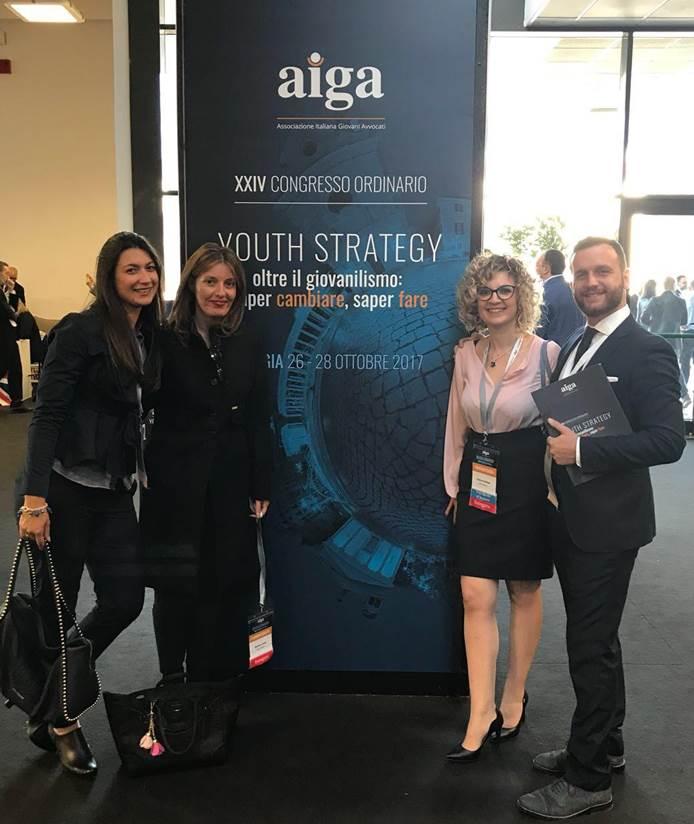 Aiga: la soddisfazione dei giovani avvocati vibonesi per il nuovo presidente nazionale