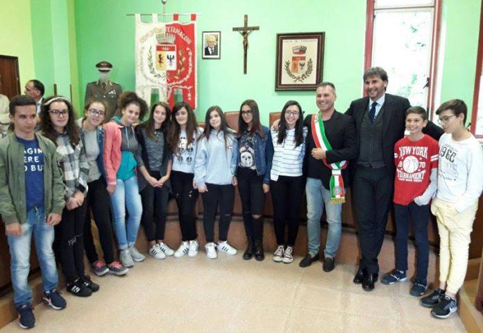 La cerimonia in Comune a Stefanaconi