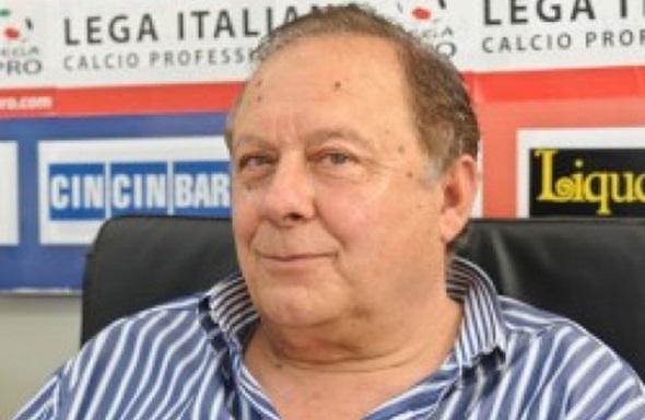 Il presidente della Vibonese Pippo Caffo