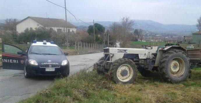 Ricettazione di un trattore, una denuncia nelle Preserre