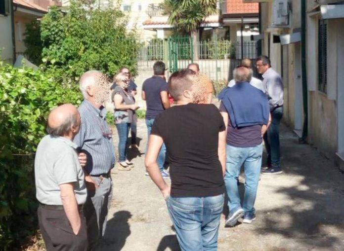 Cittadini contro il Cas a Villa Scrimbia
