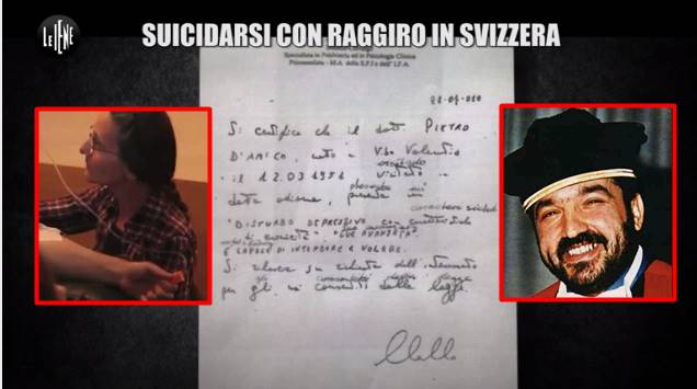 Il giudice Pietro D'Amico falsificò il certificato medico per ottenere il suicidio assistito
