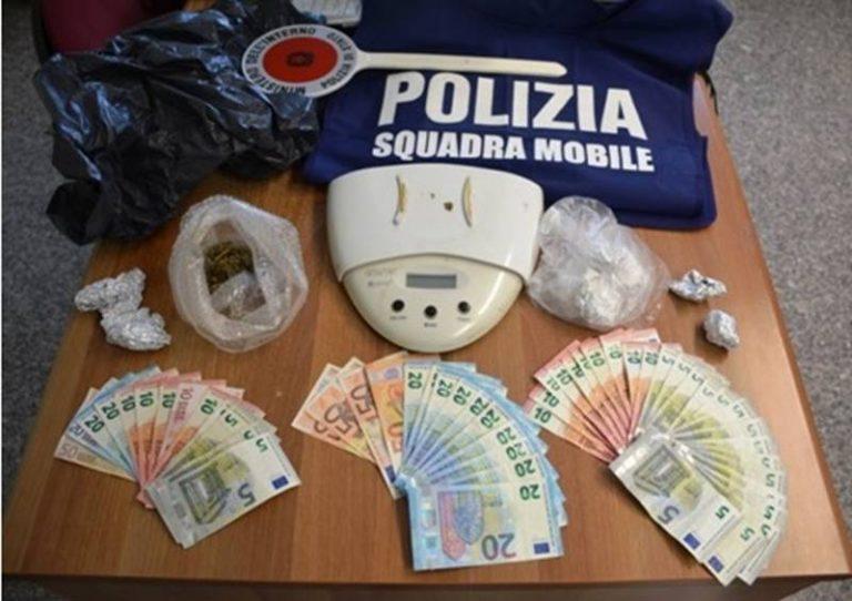Droga: un arresto e una denuncia a Vibo Valentia