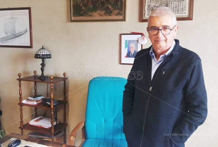 Gilberto Floriani nel suo ufficio al Sbv