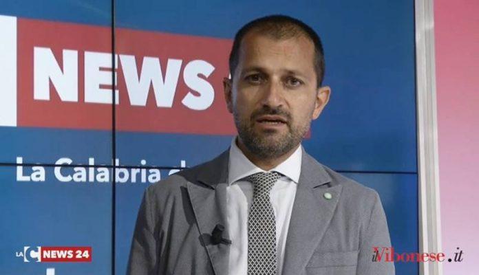 Stefano Soriano negli studi di LaC Tv