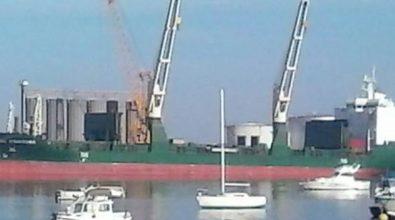 Vibo Marina: partita nave mercantile da 10mila tonnellate di stazza