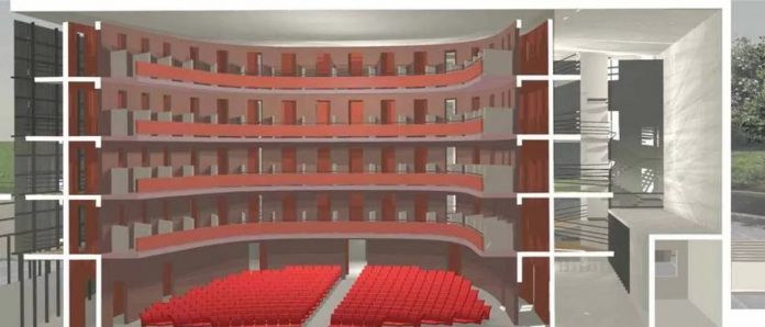 Il progetto del nuovo teatro di Vibo