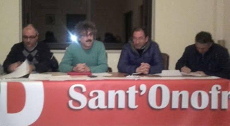 Congressi Pd, Fortunato Addesi nuovo segretario del circolo di Sant'Onofrio