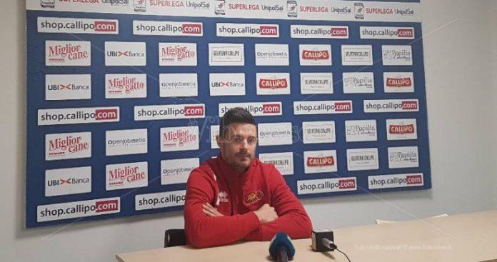 Manuel Coscione in conferenza stampa