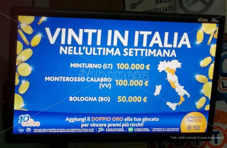La dea bendata bacia Monterosso, vinti 100mila euro