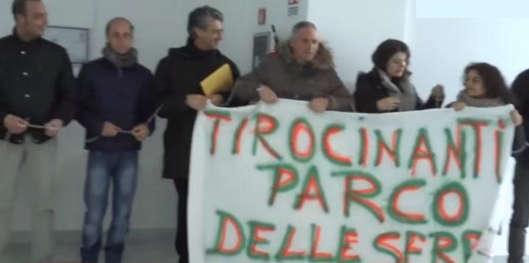 Parco delle Serre, i tirocinanti occupano la sede dell'Ente a Serra San Bruno