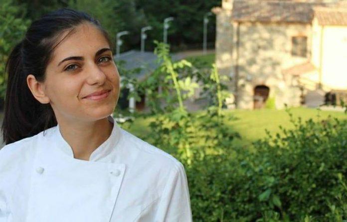 La giovane cuoca Agnese Gigliotti