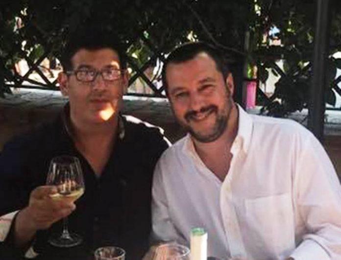 Barbieri con Salvini