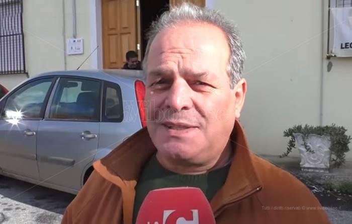 Il sindaco di Joppolo Carmelo Mazza