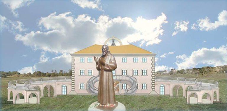 """Salute e spiritualità, sorgerà a Drapia la """"Cittadella di Padre Pio"""" (VIDEO)"""