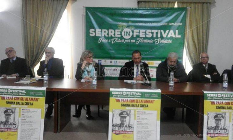 """Serra San Bruno, la figura di Carlo Alberto Dalla Chiesa rivive al """"Serre in festival"""" (VIDEO)"""