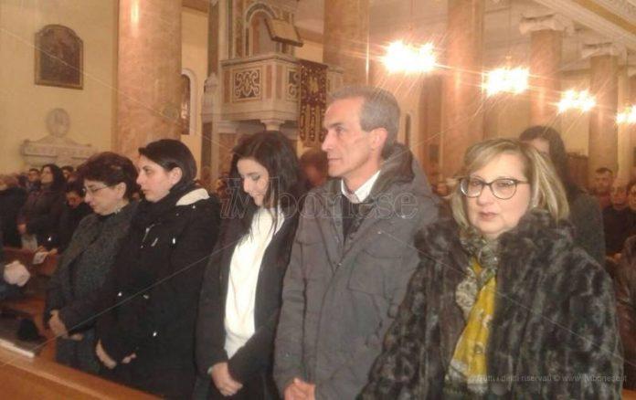 I familiari di Francesco Prestia Lamberti