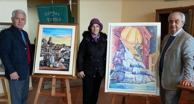 """""""Arte spazio"""", il premio ai vibonesi Giuseppe Galati e Caterina Rizzo"""