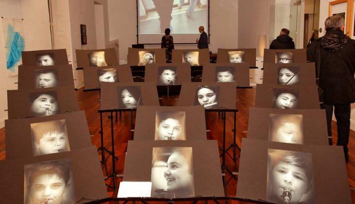 Un'installazione del Premio Limen Arte di Vibo