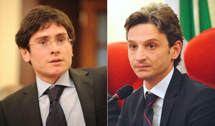 Da sinistra Stefano Luciano e Giuseppe Mangialavori