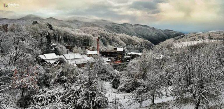 Prima neve nel Vibonese, imbiancate le vette delle Serre (FOTO)