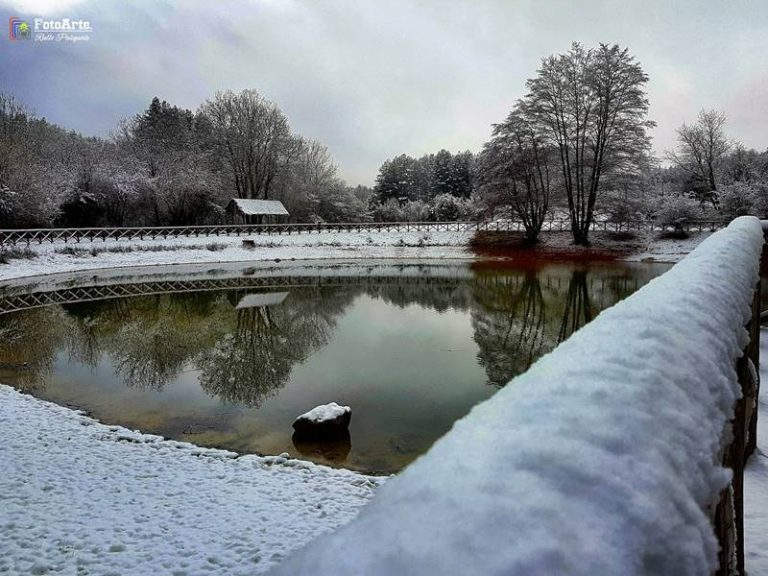 Torna la neve nelle Serre vibonesi, temperature in picchiata a Capodanno (VIDEO)