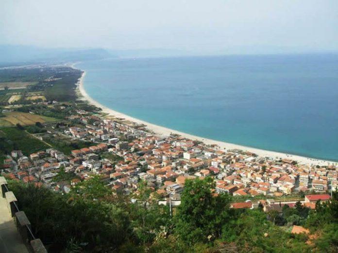 Nicotera Marina vista dall'alto