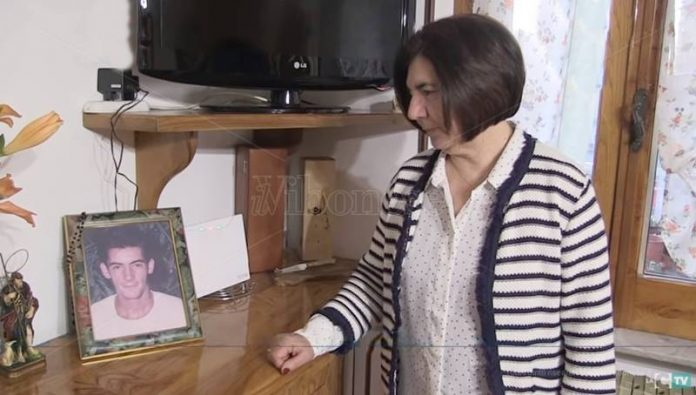 Teresa Lochiatto madre di Giuseppe Russo