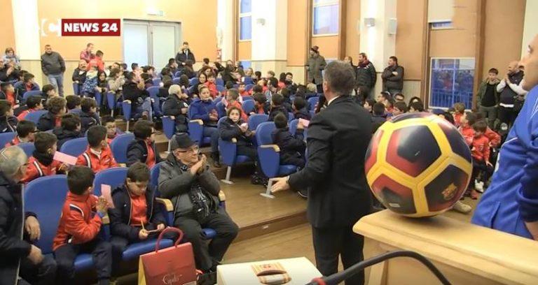 La Vibonese calcio saluta il 2017 con la classica tombolata rossoblù (VIDEO)