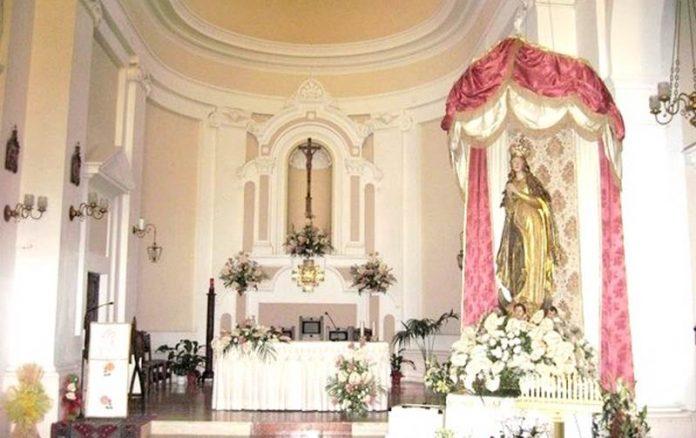 La statua dell'Immacolata a Briatico