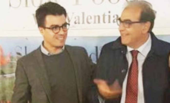 Gianluca Callipo e Antonio Viscomi