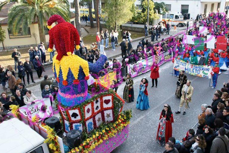 """Mileto si prepara al """"Carnevale dei carnevali"""": il 18 febbraio sfilano i migliori carri della provincia"""