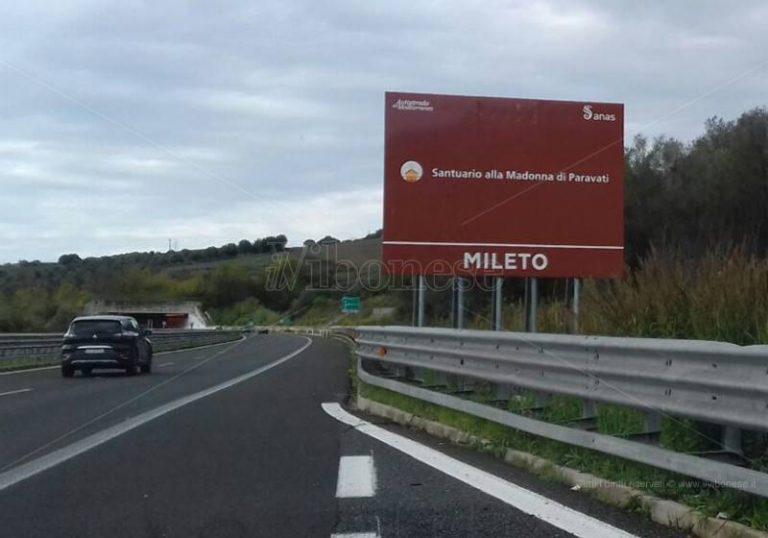 Gaffe dell'Anas sul cartellone di Mileto, l'ex assessore Cupi: «Inascoltati i nostri rilievi»