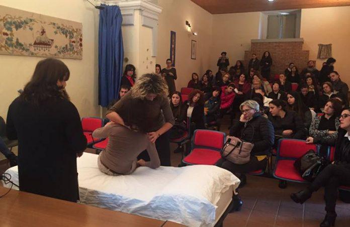 Il corso di caregivers a Mileto