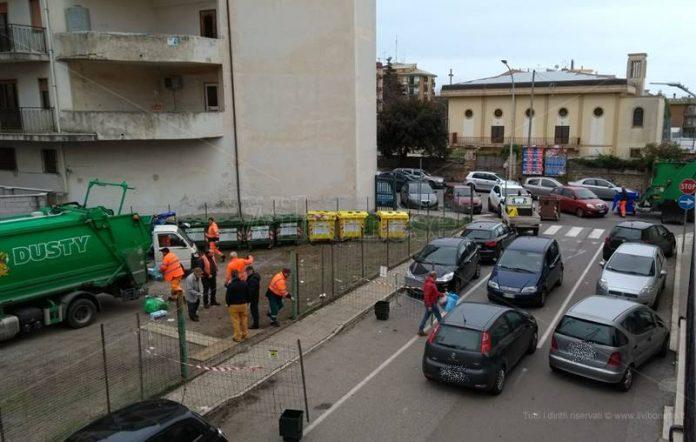 L'eco punto di via Pellicanò