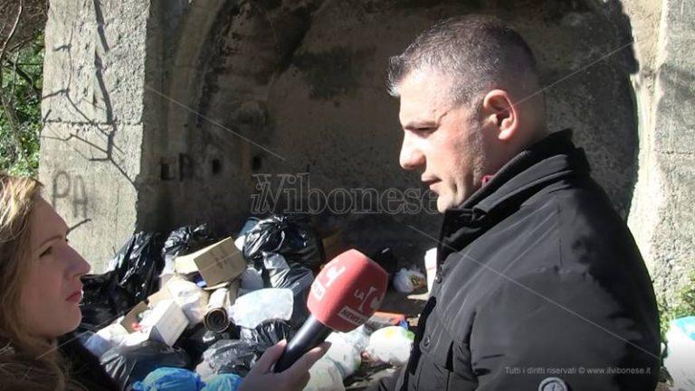 Rifiuti abbandonati in strada a Vibo, in arrivo 2000 multe (VIDEO)