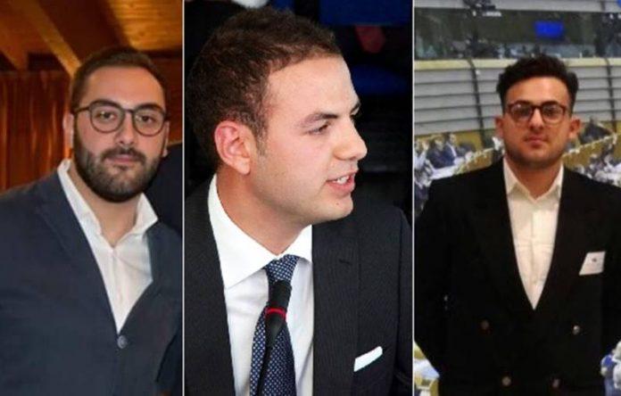 Da sinistra Pagnotta, Pontoriero e Zaccaria