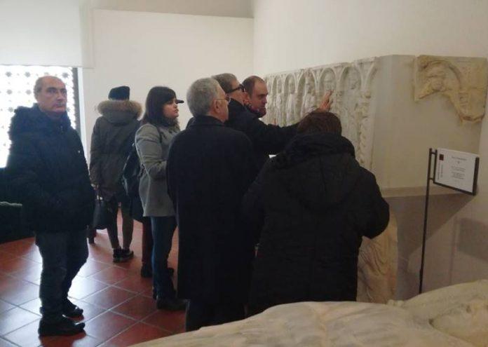 La visita guidata al museo di Mileto