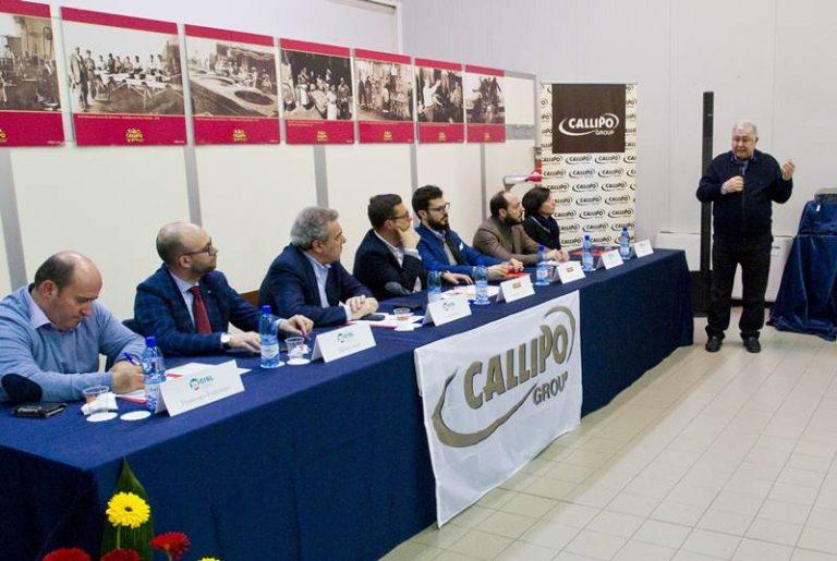 Lavoro, Callipo premia i dipendenti per produttività e fedeltà