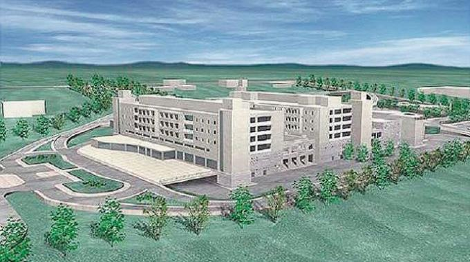 Il progetto del nuovo ospedale