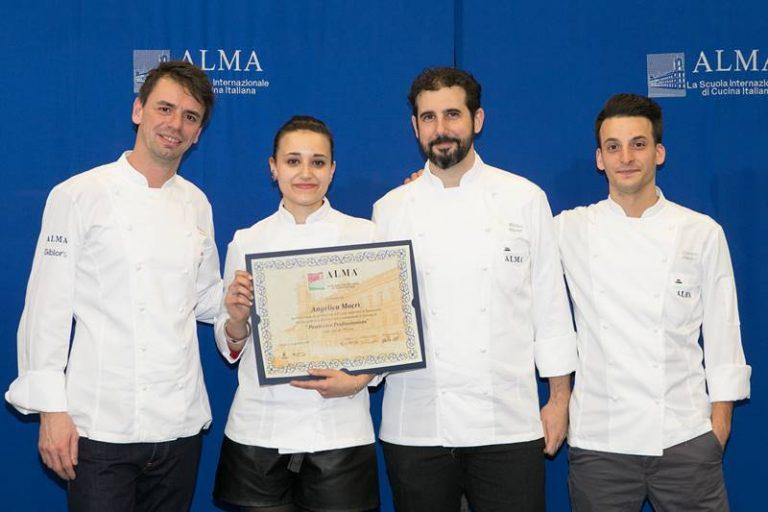 La vibonese Angelica Macrì si diploma pasticcera professionista a Parma