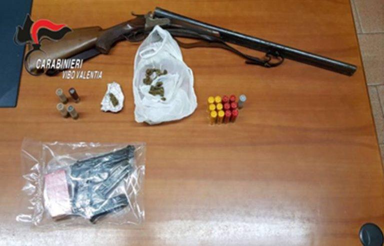 Aveva un piccolo arsenale in casa, un arresto a Limbadi (VIDEO)
